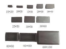 plastic table leg feet oblong 2 plug 30 40 50 60 100 oblong rectangle plastic table insert