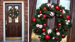the cookes diy christmas ball wreath