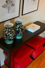 Decorating A Sofa Table 47 Console Table Decor Ideas Shelterness