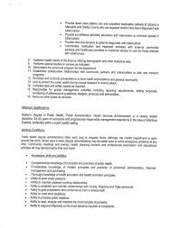 Public Health Resume Objective Busboy Resume Sample 2016 Experience Resumes