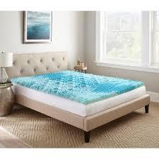 broyhill 2 in king gel memory foam mattress topper imtopb201ek