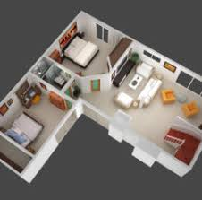 home design d isometric views of small house plans kerala home