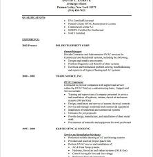 Hvac Resume Templates Hvac Resume Hvac Resume Examples Ksa Manager Alexa With Regard To