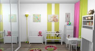 chambre bébé peinture murale chambreco murale idee garcon jungle methode montessori scandinave