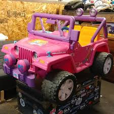 barbie power wheels diy jurassic jeep power wheels album on imgur