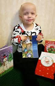 toddler fights cancer asks for christmas cards