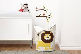 Tall Laundry Basket Stylish Cute 3 Sprouts Laundry Hamper Lion Yellow 3 Sprouts Amazon Ca Baby