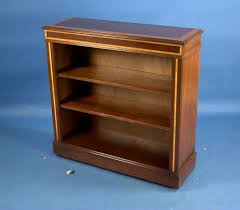 Antique Style Bookcase Antique Style Small Mahogany Open Bookcase