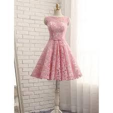pink dress knee length homecoming dresses pink knee length homecoming
