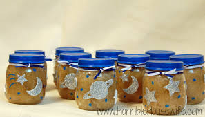 space themed baby food jar gifts horrible housewife