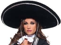 mariachi hairstyles hats and headgear 155349 morris costumes mariachi brim hat black