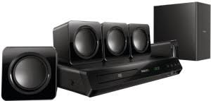 Buy Philips Hts5520 94 5 1 Dvd Home Theatre System Online At Best - onida hts 4000 5 1 home theatre system rs 9144 rstore in
