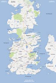 World Of Work Map by The World Of Westeros Done Google Maps Style