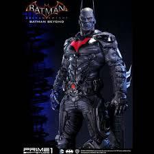 Batman Halloween Costume Arkham Knight U0027s Batman Skin Immortalized Statue Form