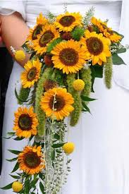 wedding flowers sunflowers warmth and happiness 20 sunflower wedding bouquet ideas
