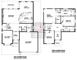 two home plans two storey house plans canada homes floor plans