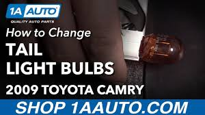 how to change tail light turn signal brake reverse bulbs 2009