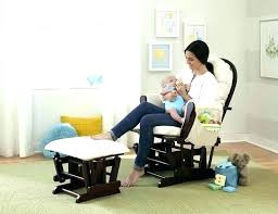 Nursery Rocking Chairs With Ottoman Nursery Glider And Ottoman Etechconsulting Co