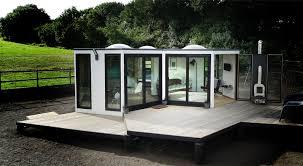 flat pack homes flat pack hivehaus transforms into hexagonal modular homes