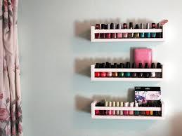 Ikea Racks How To Create Nail Polish Storage With Ikea Spice Racks Makeup