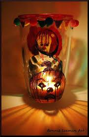 halloween candlestick holders halloween candle