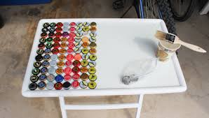 Creative Coffee Table by Beer Bottle Cap Table U2013 Touch Of Tay