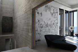 architecture aesthetic wall mural sleek concrete floor unusual architecture aesthetic wall mural sleek concrete floor unusual black sofa modern sound system minimalist glass fidar beach house fut