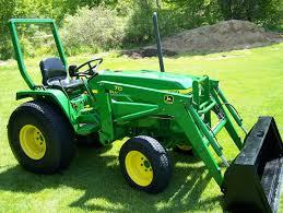 john deere 790 compact loader tractor 30 hp diesel 10 500 michigan