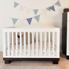 Espresso Convertible Crib Espresso And White Modo Convertible Crib By Babyletto