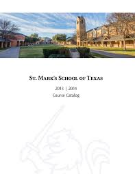 course catalog 2013 2014 by st mark u0027s of texas issuu