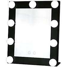 Beauty Vanity With Lights Amazon Com Wildgirl Vanity Lighted Hollywood Makeup Mirror With