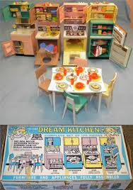 Deluxe Kitchen Play Set by Deluxe Reading 1963 Dream Kitchen Doll Playset Z Toy Kitchen