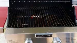 Two Burner Gas Cooktop Propane The Smallest Footprint Kitchenaid Propane 2 Burner Grill Youtube