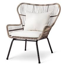 Woven Patio Chair Fancy Rattan Patio Furniture 23 For Home Remodel Ideas With Rattan