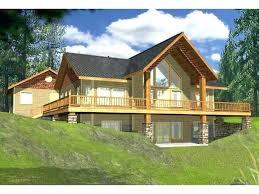 walkout basement designs plans lake home plans with walkout basement