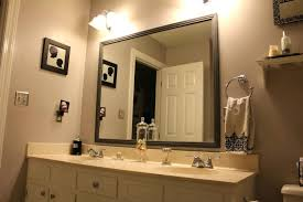 Oval Bathroom Mirrors Brushed Nickel Large Glass Mirror Bathroom Bathrooms Framed Bathroom Mirrors Oval