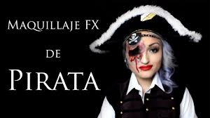 halloween pirate makeup maquillaje fx de pirata fx pirate makeup youtube