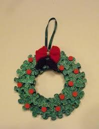 puzzle wreath ornament puzzle pieces