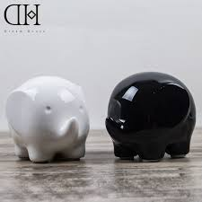 aliexpress com buy creative elephant figurine kawaii ceramic