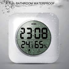 clocks hanging shower radio waterproof shower clock shower am