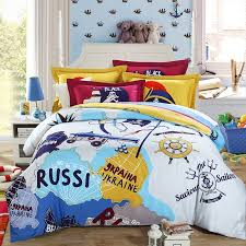 themed bed sheets travel themed bedding 20