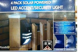 Costco Led Outdoor Lights Costco Solar Landscape Lights Lighting Outdoor Paradise 4 Pack