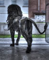 metal lion statue metal lion sculpture by selcuk yilmaz by selcukk on deviantart