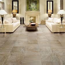 Tile Flooring Living Room Flooring Ideas Marble Like Porcelain Tile Flooring