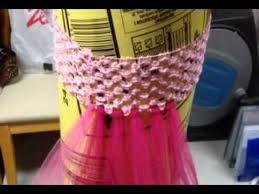 crochet headband tutu canada tulle easy headband tutu tutorial