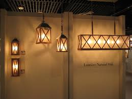 lumiere collection feiss carbonized natural oak clear