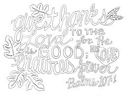 give thanks to the lord coloring page eson me