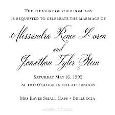 wedding invitations font custom watercolor wedding invitations stationery