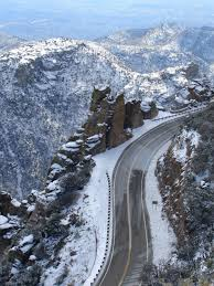 Arizona Travel Pass images Mt lemmon highway leads to little mountain town of summerhaven jpg