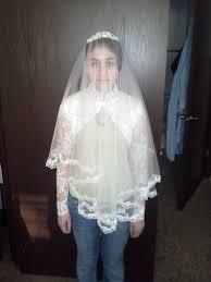 custom made silk drop veil with tiara princess kate middleton
